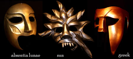 Custom Theater Masks - Absentia Lunae