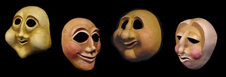 Bravo Custom Theater Masks