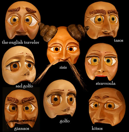 Custom Theatre Masks - Golfo