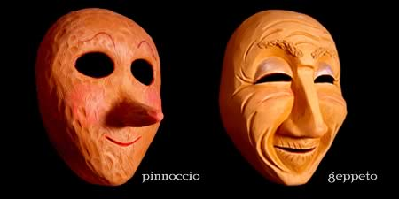 Custom Theater Masks - Pinnochio