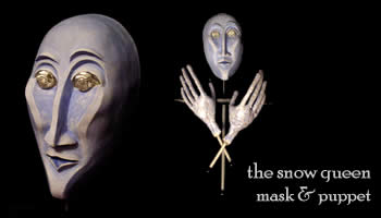 The Snow Queen Mask & Puppet
