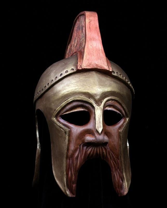 Amphytrion Helmet Mask, Front View