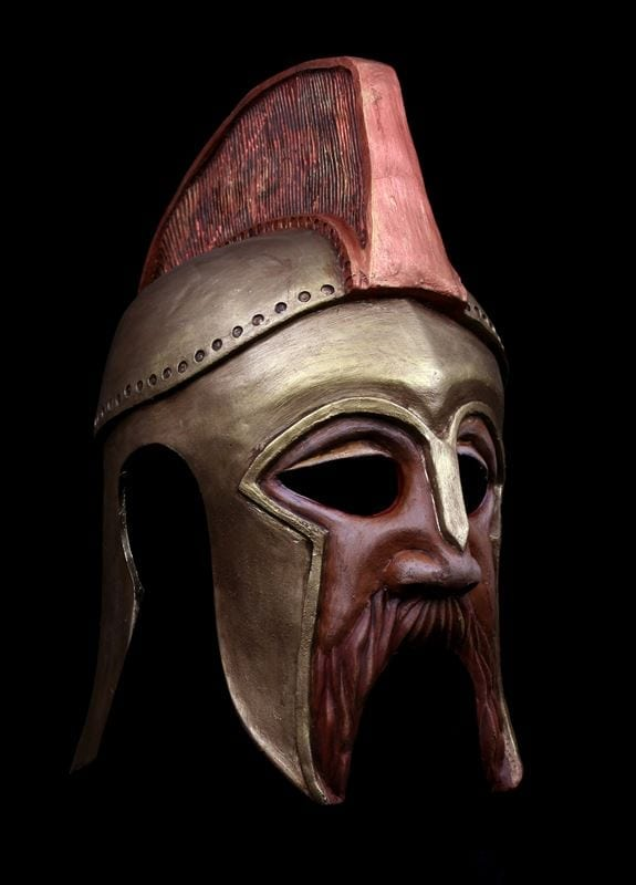 Amphytrion Helmet Mask, Right View