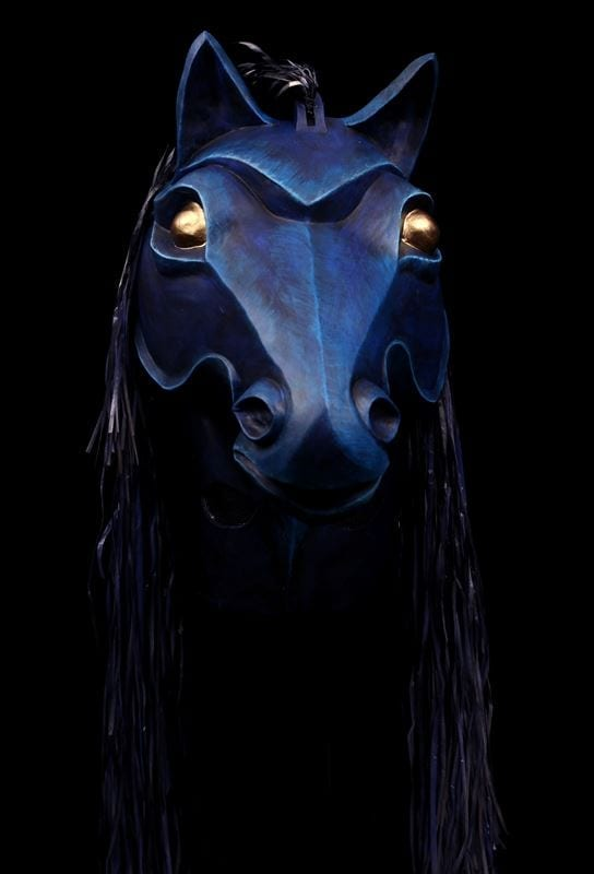 Front View, Amphytrion Night Steed Mask
