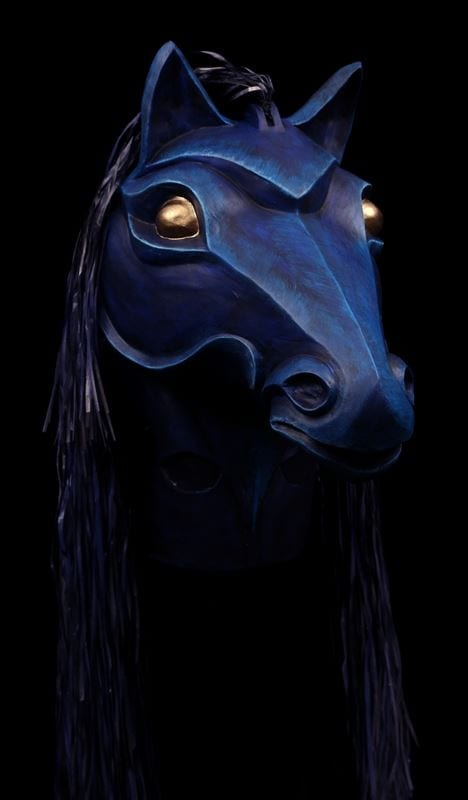 Side View, Amphytrion Night Steed Mask
