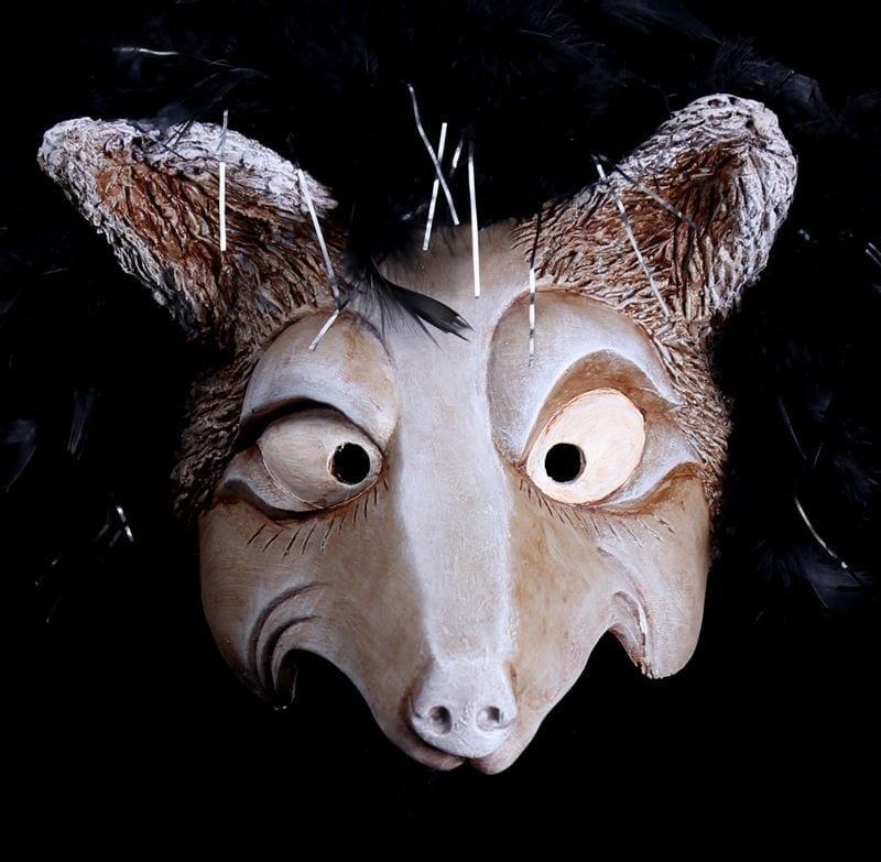 Half Mask, Grey Wolf