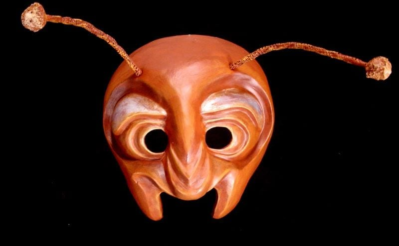 Ant Half Mask, View 1