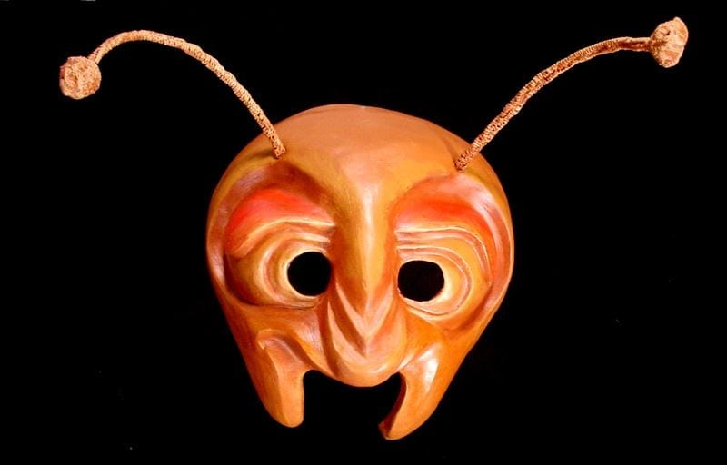 Ant Half Mask, View 2