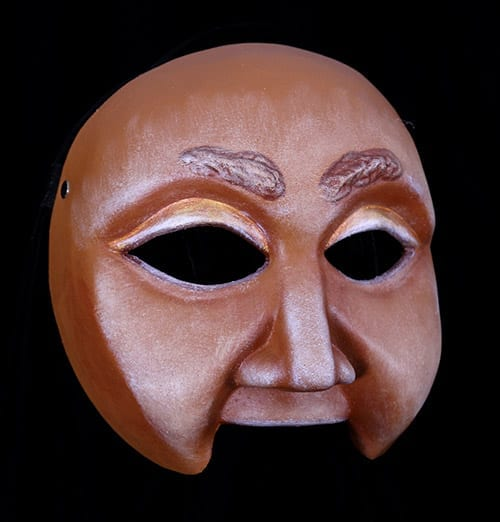 Character Half Mask, Anon