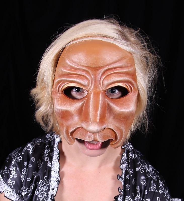 Character Half Mask, Baer, F1, Modeled
