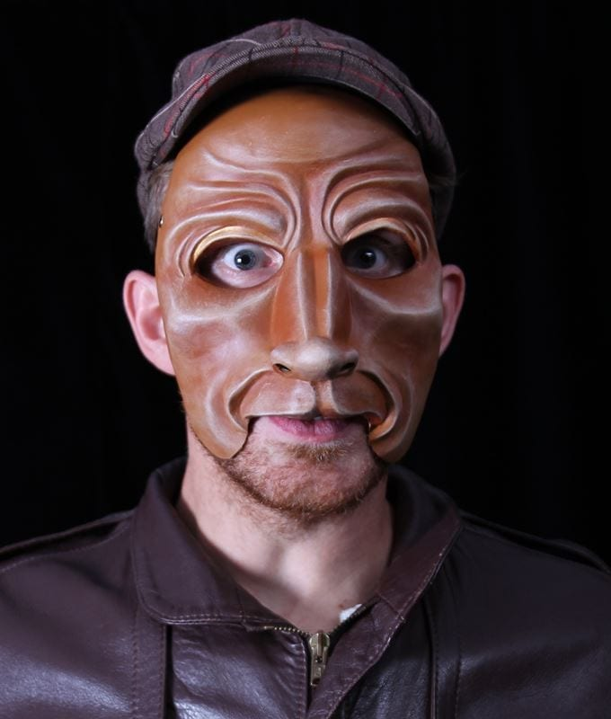 Character Half Mask, Baer, M2, Modeled