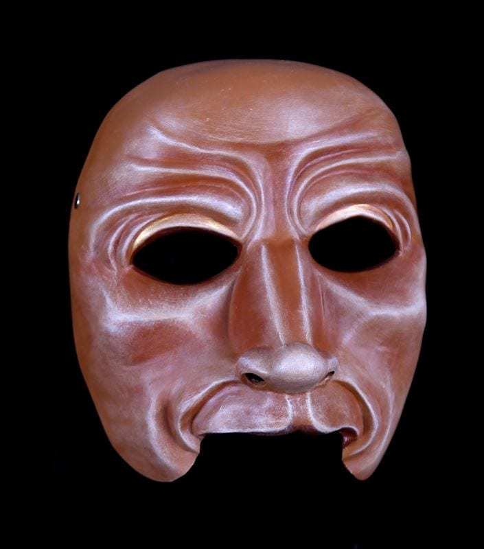 Character Half Mask, Baer, Modeled