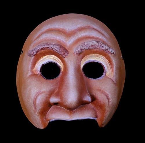Character Half Mask, Ceri