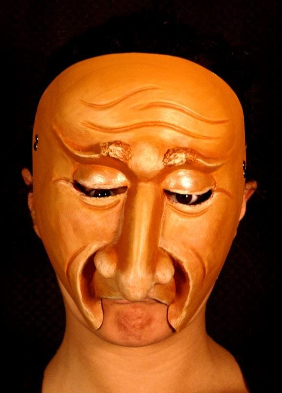 Character Half Mask Dagny, Modeled, View 1