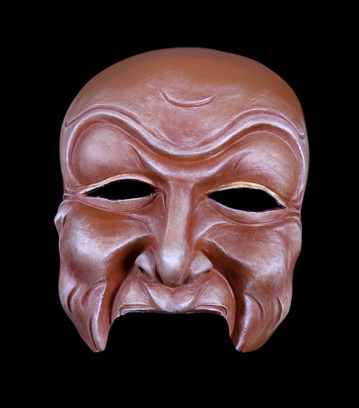 Character Half Mask, Dedji