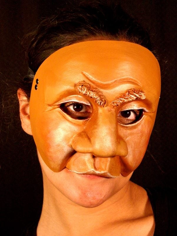 Character Half Mask Dyke, Modeled, View 2