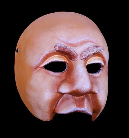 Character Half Mask, Dyke