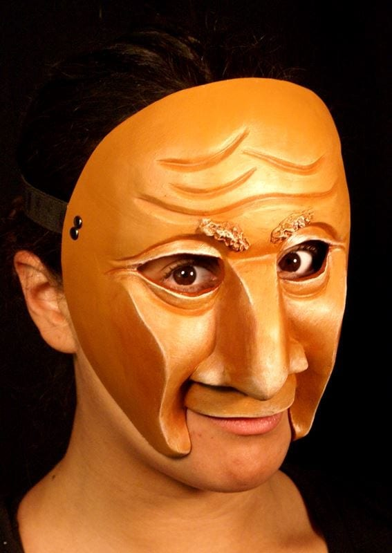 Character Half Mask Jos, Modeled, View 2