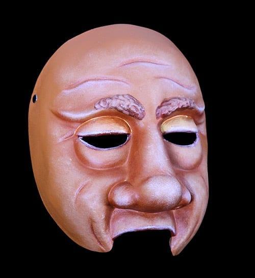 Character Half Mask, Lug