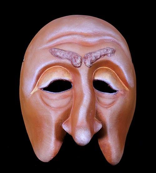 Character Half Mask, Spritzer