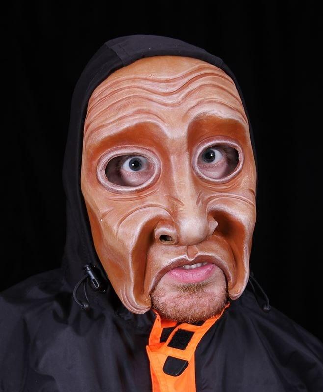 Character Half Mask, Tellall, M1, Modeled