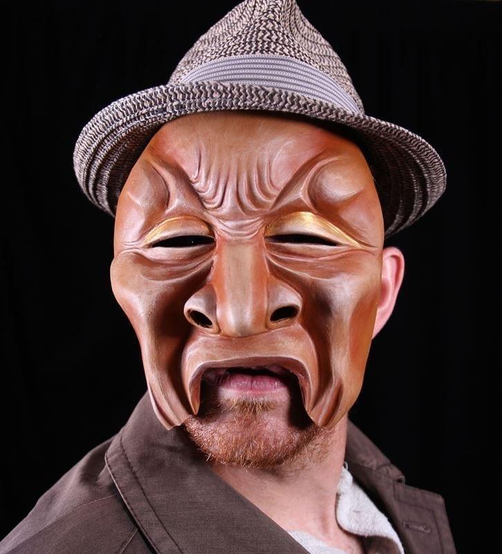 Character Half Mask, Trion, M1, Modeled