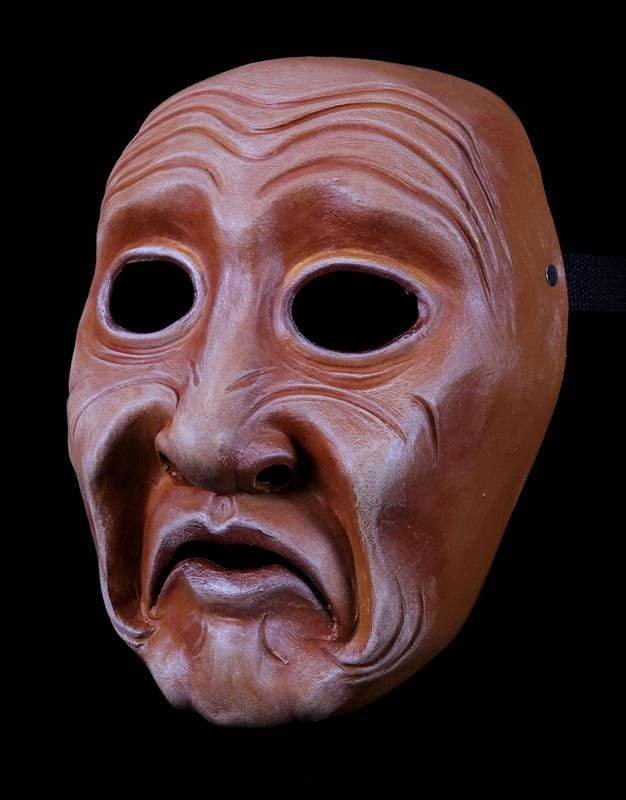 Full Face Character Mask, Series 3, Number 2