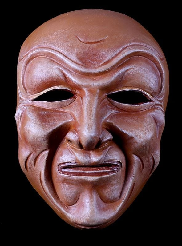 Full Face Character Mask, Series 3, Number 3