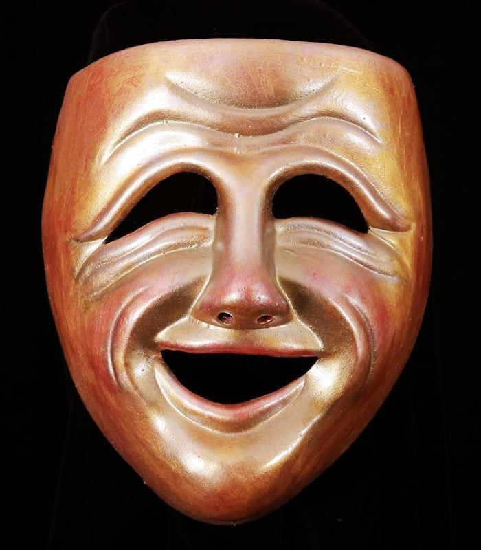 Decorative Comedy Mask