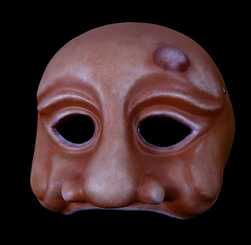 Arlechino, Commedia Half Mask 3