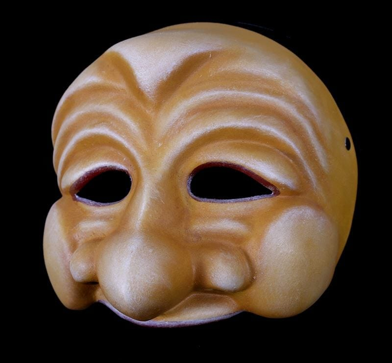 Bagatino, Commedia Half Mask