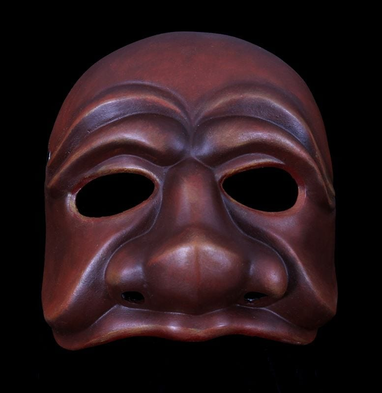 Capitano, Commedia Half Mask 1