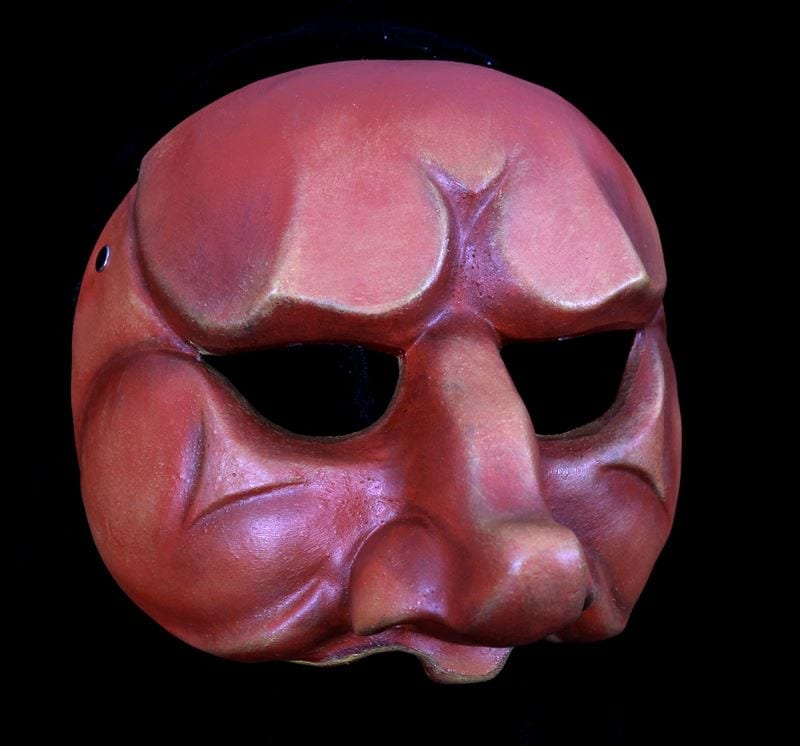 Capitano, Commedia Half Mask 3