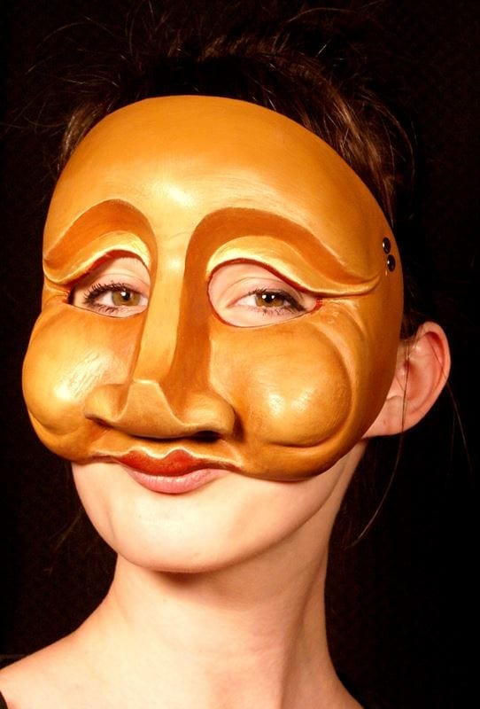 Francheschina, Commedia Half Mask, Modeled