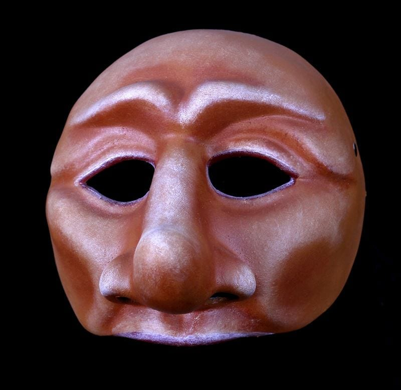Leandro, Commedia Half Mask