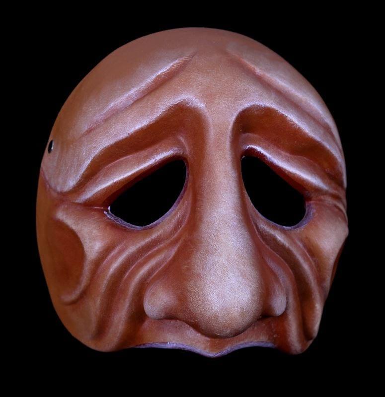 Pantelone, Commedia Half Mask 3