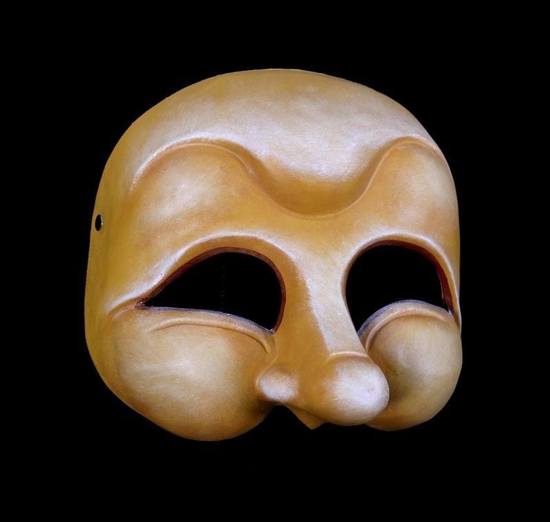 Pedrolino, Commedia Half Mask