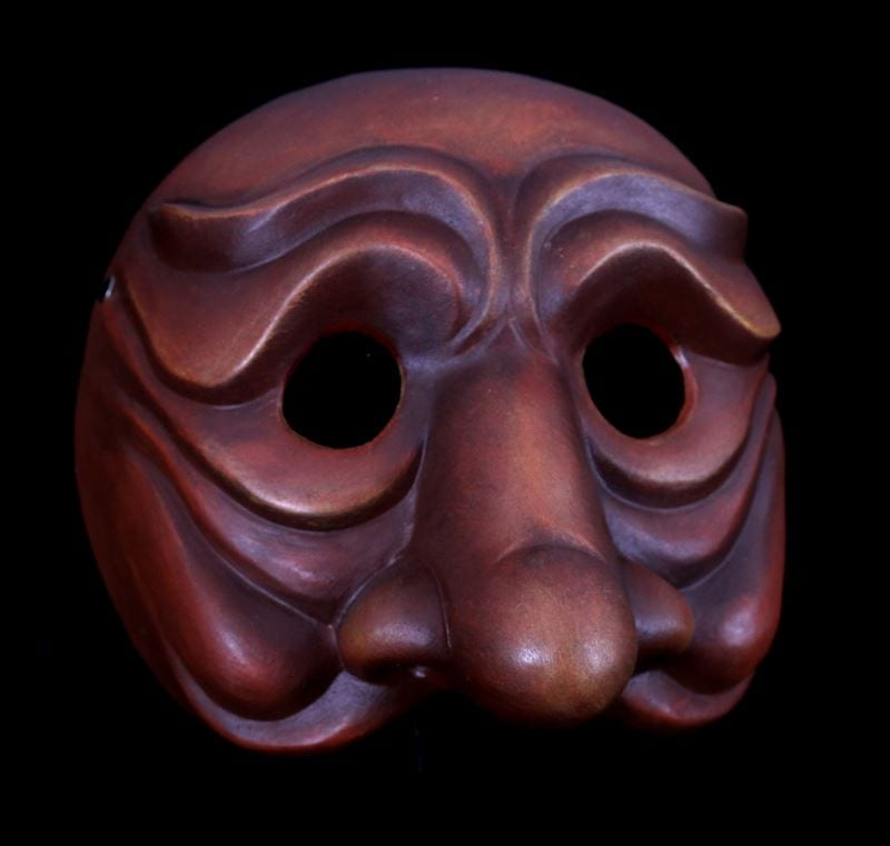 Punchinella, Commedia Half Mask 1