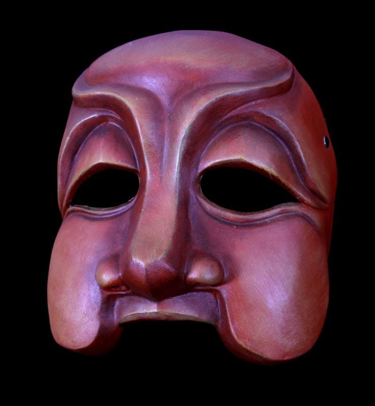 Smeraldina, Commedia Half Mask