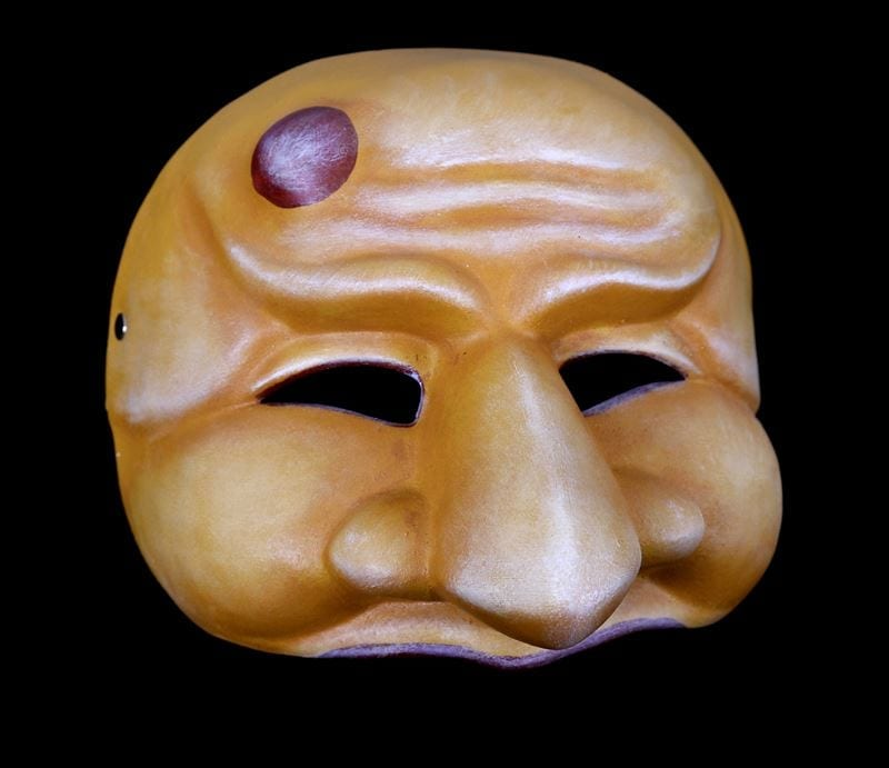 Zanni, Commedia Half Mask 1