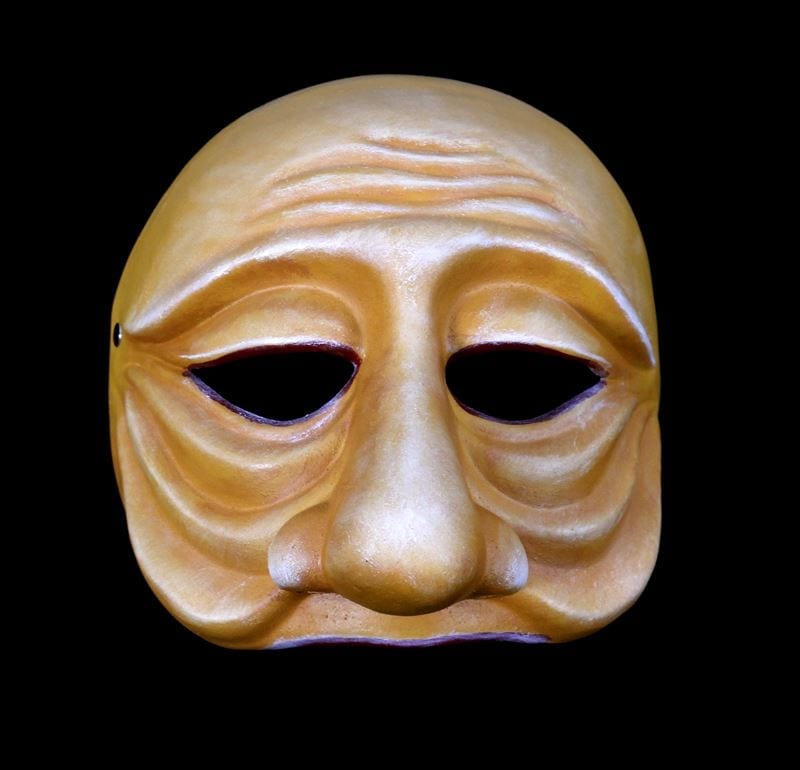 Zanni, Commedia Half Mask 2