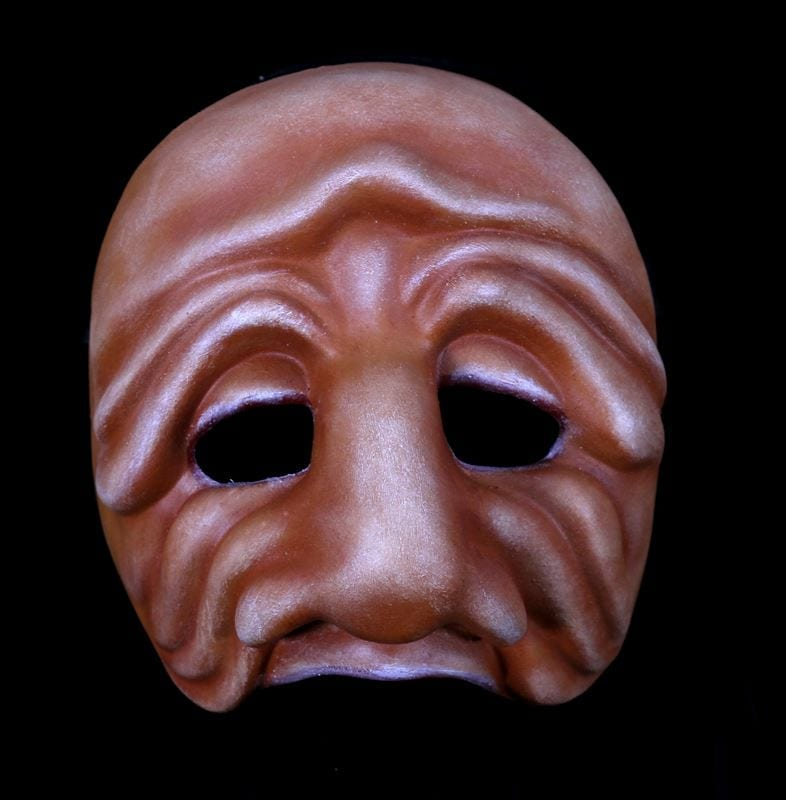 Zanni, Commedia Half Mask 3