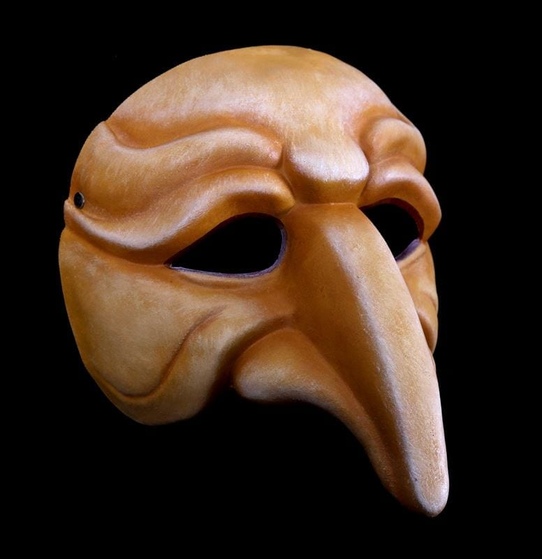 Zanni, Commedia Half Mask 4
