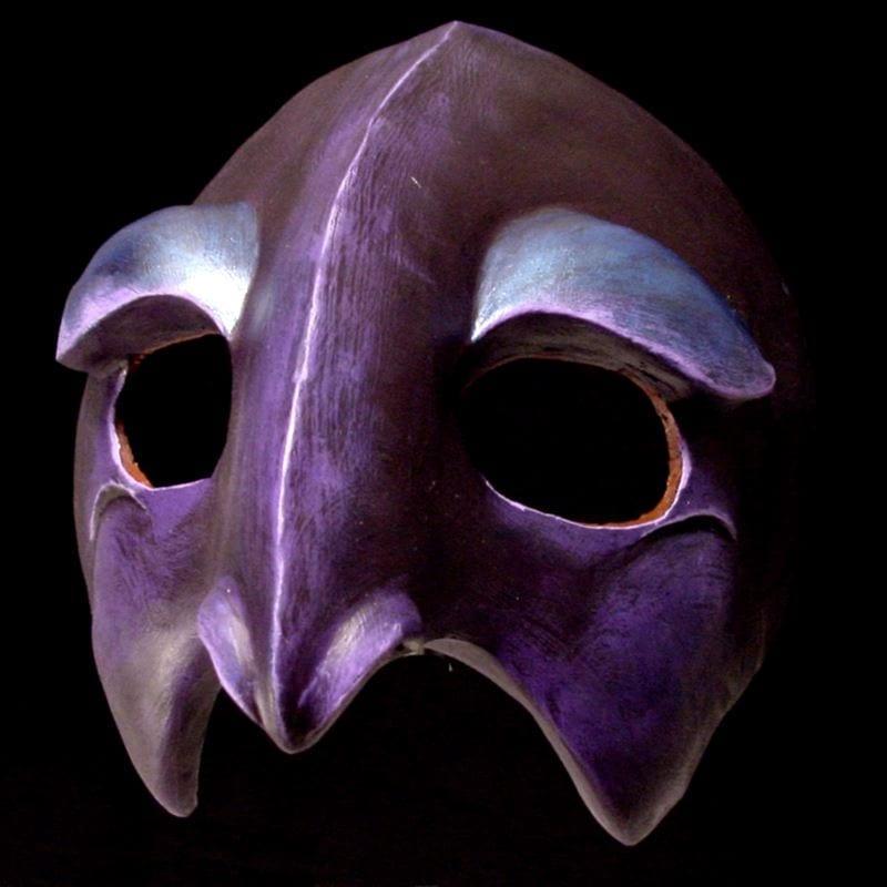 Crow Half Mask