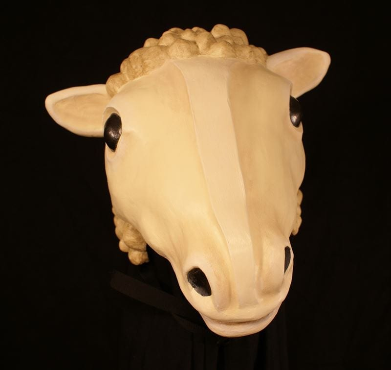 Ewe Headpiece Theatre Mask