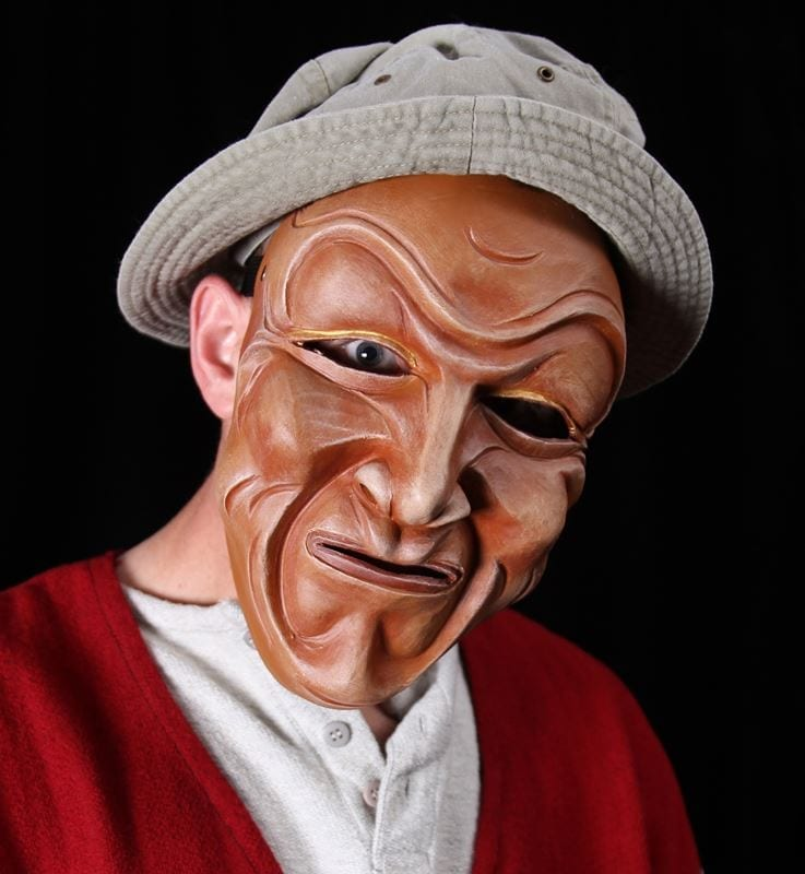 Full Face Character Mask, Series 3, Number 3, Modeled