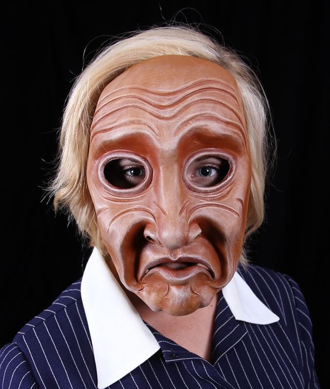 Full Face Character Mask, Series 3, Number 2, Modeled, View 2