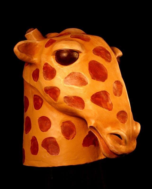 Giraffe Mask Headpiece, View 2