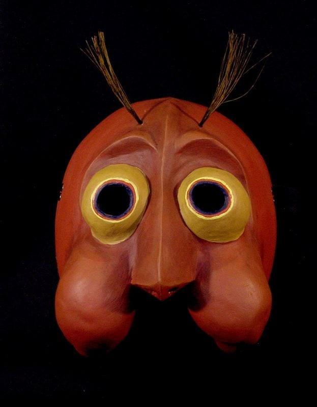 Glow Worm Mask