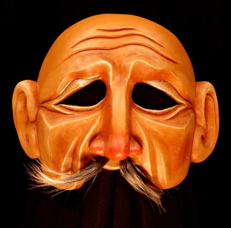 Grandfather Half Mask